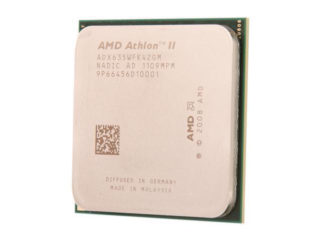 AMD Athlon II X4 635 Propus Quad-Core 2.9 GHz Socket AM3 95W ADX635WFK42GM Desktop Processor