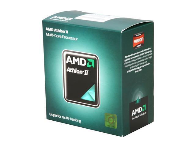 AMD Athlon II X4 645 Propus Quad-Core 3.1 GHz Socket AM3 95W ADX645WFGMBOX Desktop Processor