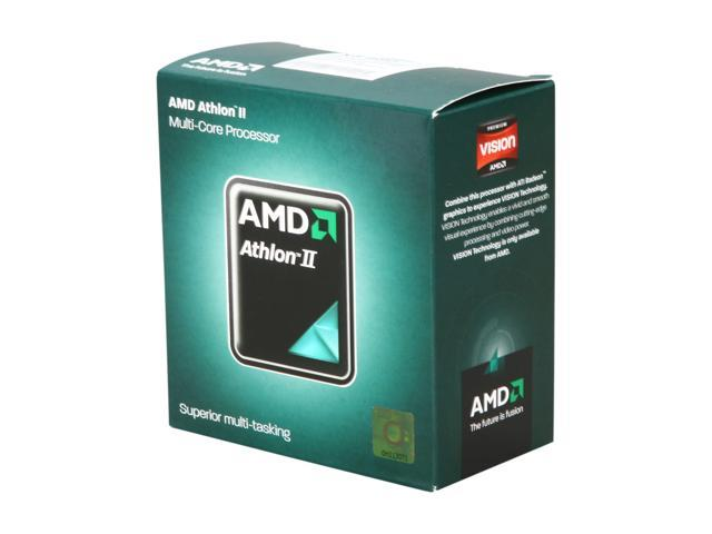 AMD Athlon II X3 450 Rana Triple-Core 3.2 GHz Socket AM3 95W ADX450WFGMBOX Desktop Processor