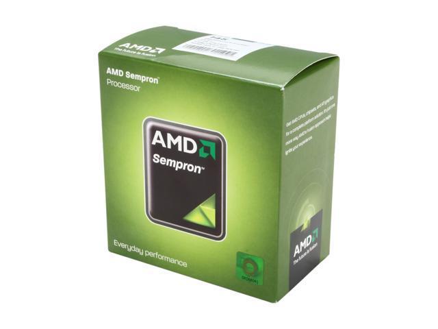 AMD Sempron 145 Sargas Single-Core 2.8 GHz Socket AM3 45W SDX145HBGMBOX Desktop Processor
