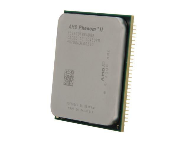 AMD Phenom II X4 970 Deneb Quad-Core 3.5 GHz Socket AM3 125W HDZ970FBK4DGM Desktop Processor