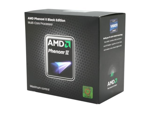 AMD Phenom II X4 970 Black Edition Deneb Quad-Core 3.5 GHz Socket AM3 125W HDZ970FBGMBOX Desktop Processor