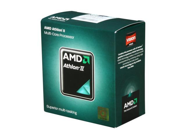 AMD Athlon II X2 255 Regor Dual-Core 3.1 GHz Socket AM3 65W ADX255OCGMBOX Desktop Processor