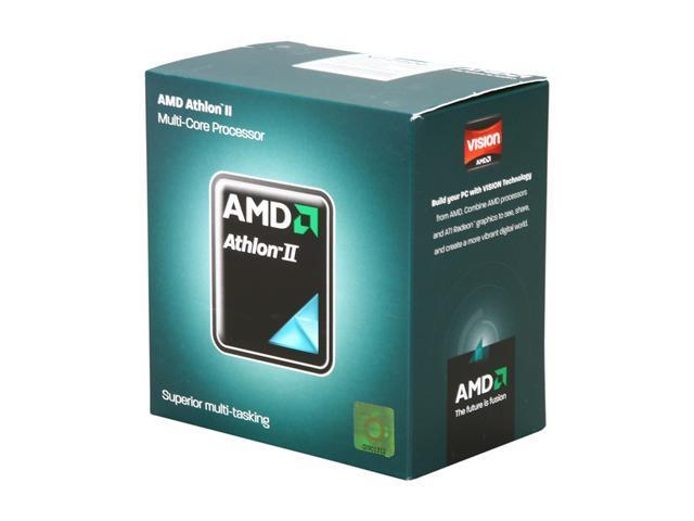 AMD Athlon II X2 240e Regor Dual-Core 2.8 GHz Socket AM3 45W AD240EHDGQBOX Desktop Processor