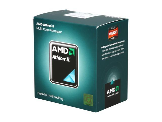 AMD Athlon II X4 600e Propus Quad-Core 2.2 GHz Socket AM3 45W AD600EHDGIBOX Desktop Processor