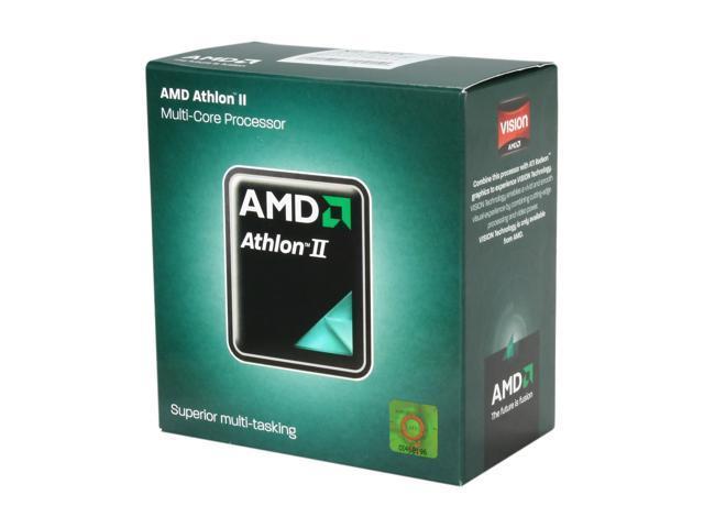 AMD Athlon II X2 250 Regor Dual-Core 3.0 GHz Socket AM3 65W ADX250OCGMBOX Desktop Processor