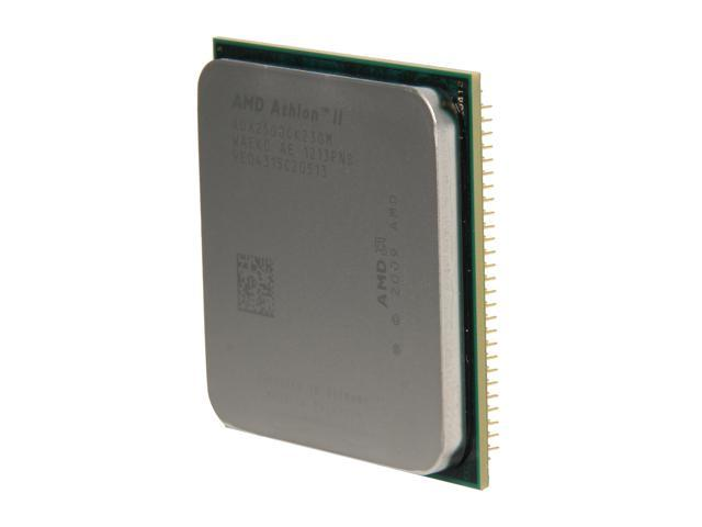 AMD Athlon II X2 250 Regor Dual-Core 3.0 GHz Socket AM3 65W ADX250OCK23GM Desktop Processor
