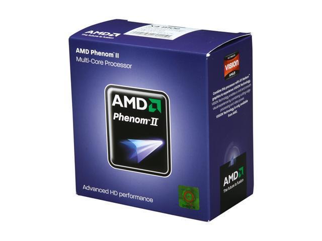 AMD Phenom II X4 910e 2.6 GHz Socket AM3 HD910EOCGMBOX Desktop Processor