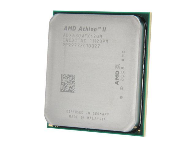 AMD Athlon II X4 630 2.8 GHz Socket AM3 ADX630WFK42GM Desktop Processor - OEM