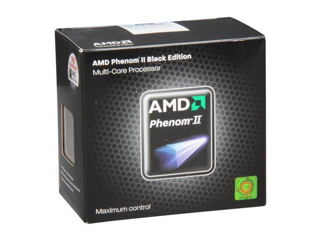 AMD Phenom II X4 980 Black Edition Deneb Quad-Core 3.7 GHz Socket AM3 125W HDZ980FBGMBOX Desktop Processor