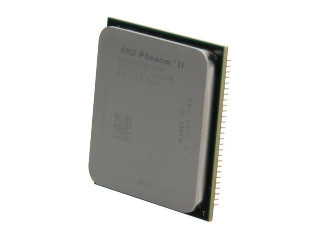 AMD Phenom II X4 980 Black Edition Deneb Quad-Core 3.7 GHz Socket AM3 125W HDZ980FBK4DGM Desktop Processor