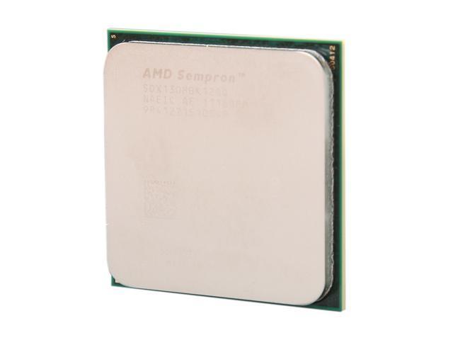AMD Sempron 130 Sargas Single-Core 2.6 GHz Socket AM3 45W SDX130HBK12GQ Desktop Processor