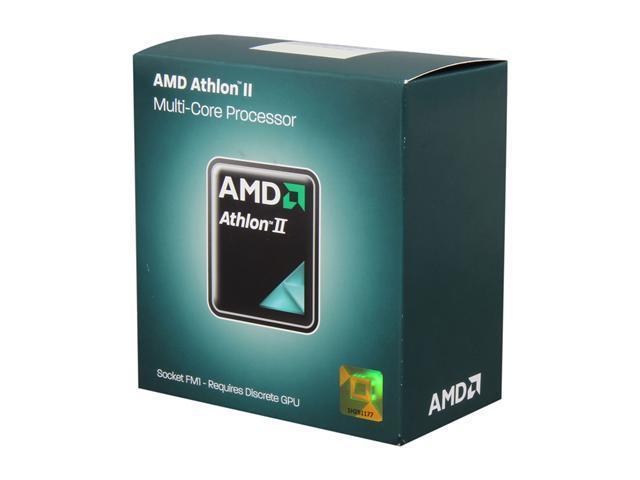 AMD Athlon II X4 631 2.6 GHz Socket FM1 AD631XWNGXBOX Desktop Processor