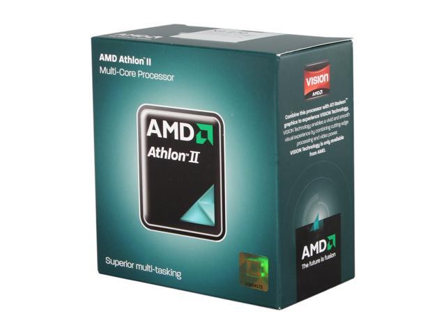 AMD Athlon II X2 270 Regor Dual-Core 3.4 GHz Socket AM3 65W ADX270OCGMBOX Desktop Processor