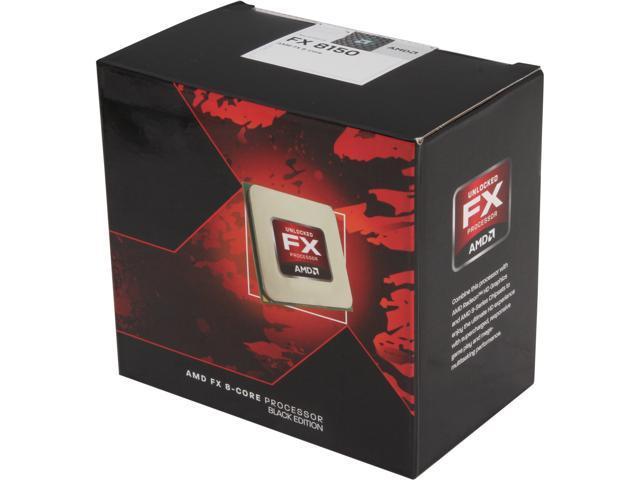 AMD FX-8150 Zambezi 8-Core 3.6 GHz Socket AM3+ 125W FD8150FRGUBOX Desktop Processor