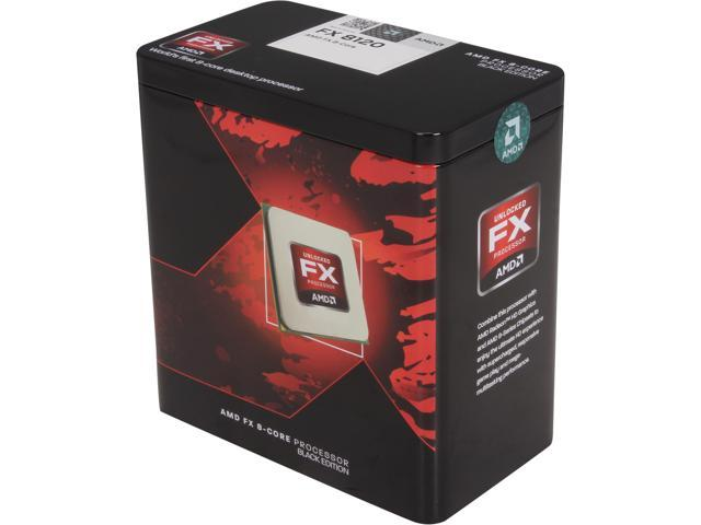 AMD FX-8120 Zambezi 8-Core 3.1 GHz Socket AM3+ 125W FD8120FRGUBOX Desktop Processor