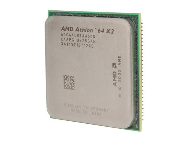 AMD Athlon 64 X2 4400+ Brisbane Dual-Core 2.3 GHz Socket AM2 ADO4400IAA5DD Processor