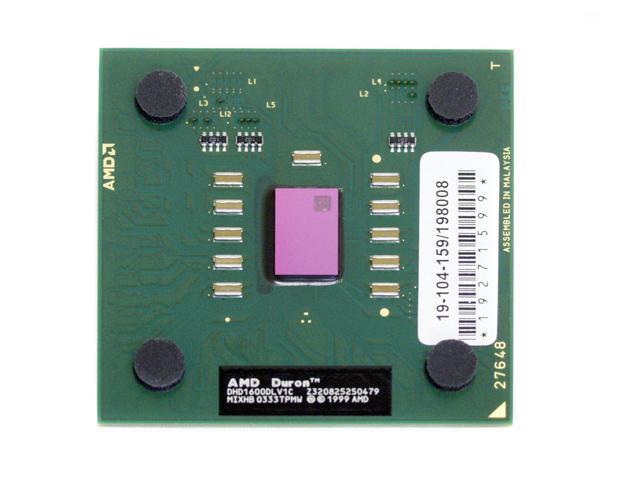AMD Duron 1.6 1.6 GHz Socket A DHD1600DLV1C Processor - OEM