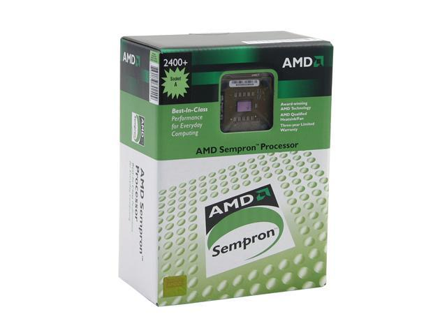 AMD Sempron 2400+ 1.667 GHz Socket A SDA2400BOX Processor
