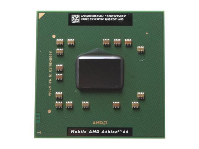 AMD Mobile Athlon 64 4000+ Newark 2.6 GHz Socket 754 Single-Core AMN4000BKX5BU Processor
