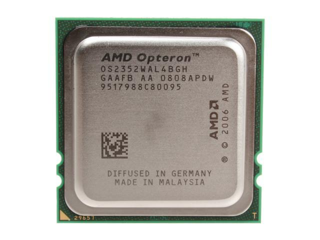 AMD Opteron 2352 2.1 GHz Socket F 75W OS2352WAL4BGH Server Processor - OEM