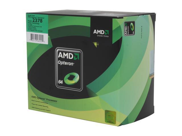 AMD Opteron 2378 Shanghai 2.4 GHz Socket F 115W OS2378WAL4DGIWOF Server Processor