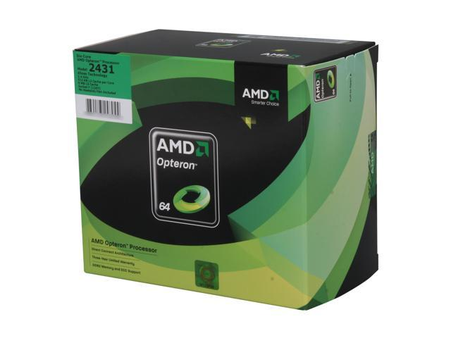 AMD Opteron 2431 Istanbul 2.4 GHz Socket F 115W OS2431WJS6DGNWOF Processor