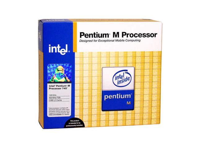 Intel Pentium M 745 Dothan Single-Core 1.8 GHz Socket 478 21W BXM80536GC1800F Processor