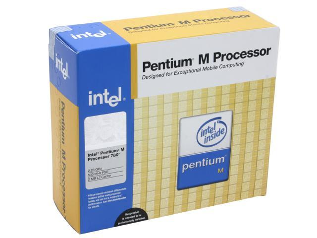 Intel Pentium M 780 Dothan Single-Core 2.26 GHz Socket M BX80536GE2266FJ Processor
