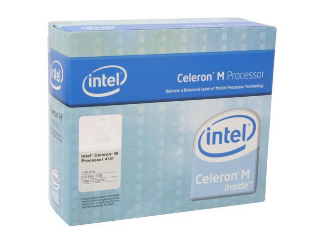 Intel Celeron M 410 1.46 GHz Socket M BX80538410 Processor