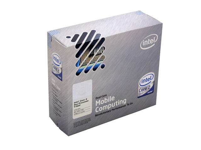 Intel Core 2 Duo T7600 2.33 GHz Socket M 34W BX80537T7600 Processor