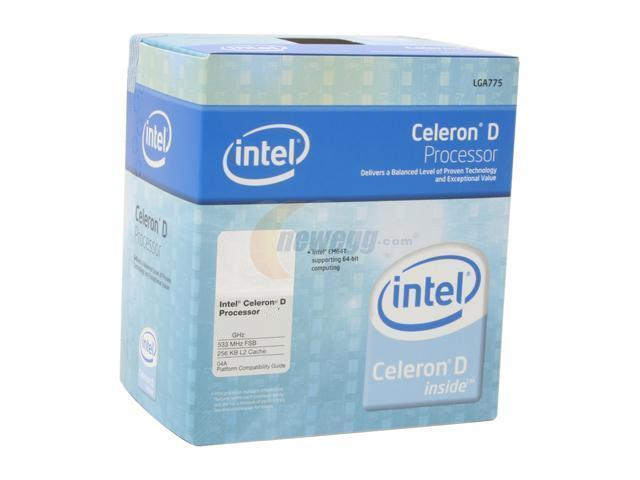 Intel Celeron D 347 Cedar Mill Single-Core 3.06 GHz LGA 775 BX80552347 Processor