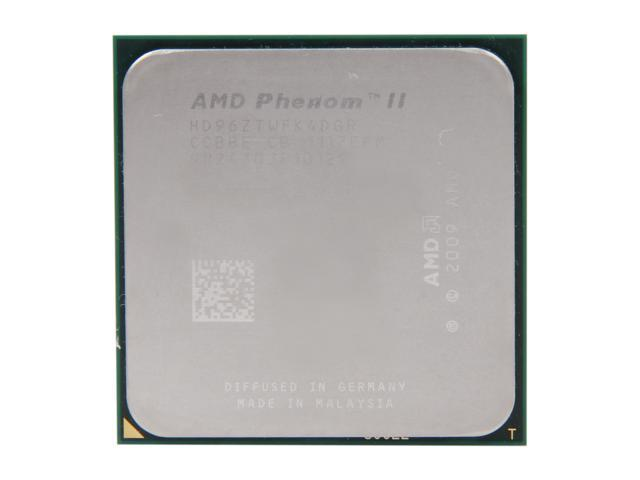 AMD Phenom II X4 960T 3.0GHz (3.4GHz Turbo Boost) Socket AM3 HD96ZTWFK4DGR Desktop Processor