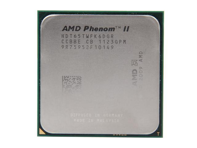 AMD Phenom II X6 1065T 2.9GHz (3.4GHz Turbo Boost) Socket AM3 HDT65TWFK6DGR Desktop Processor
