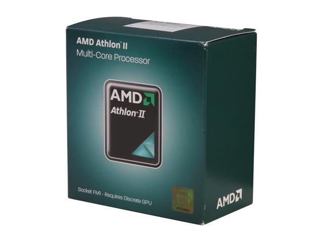 AMD Athlon II X4 651K 3.0 GHz Socket FM1 AD651KWNGXBOX Desktop Processor