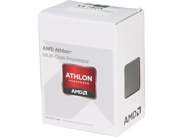 AMD Athlon X4 740 Trinity Quad-Core 3.2 GHz Socket FM2 65W AD740XOKHJBOX Desktop Processor