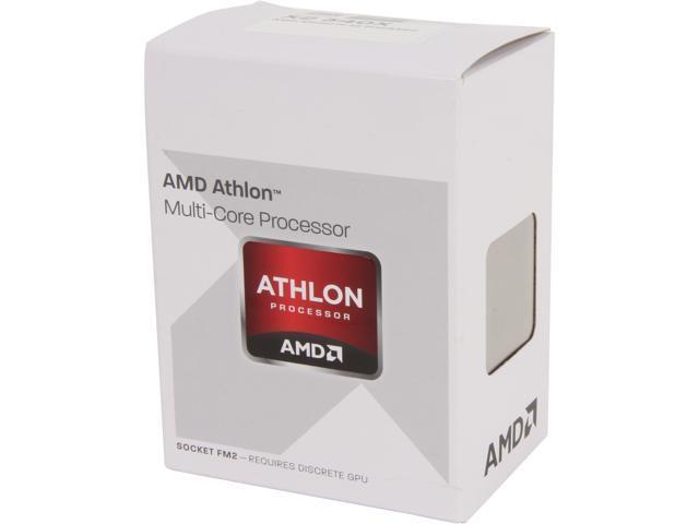 AMD Athlon X2 340 Trinity Dual-Core 3.2 GHz Socket FM2 65W AD340XOKHJBOX Desktop Processor