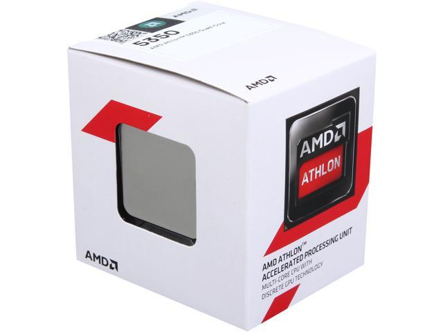 AMD Athlon 5350 Kabini Quad-Core 2.05 GHz Socket AM1 25W AD5350JAHMBOX Desktop Processor AMD Radeon HD 8400