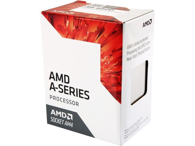 Procesador CPU AMD APU A6 9500 Dual 3.8Ghz Core 3.4Ghz AM4