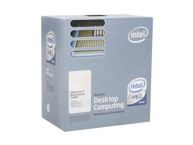 Intel Core 2 Duo E4300 1.8 GHz LGA 775 BX80557E4300 Processor