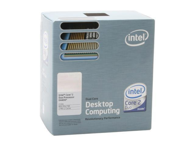Intel Core 2 Duo E4400 2.0 GHz LGA 775 BX80557E4400 Processor