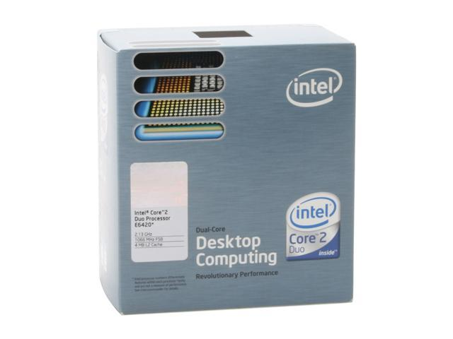 Intel Core 2 Duo E6420 2.13 GHz LGA 775 BX80557E6420 Processor