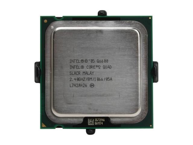 Intel Core 2 Quad Q6600 2.4 GHz LGA 775 HH80562PH0568M Processor