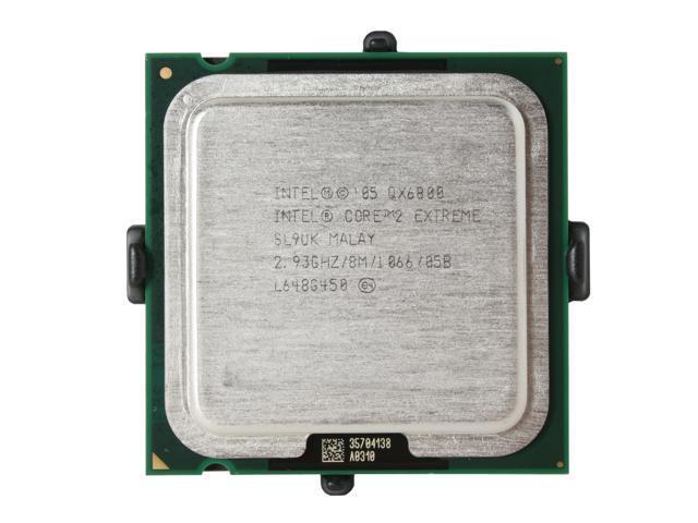 Intel Core 2 Extreme QX6800 2.93 GHz LGA 775 BX80562QX6800 Processor