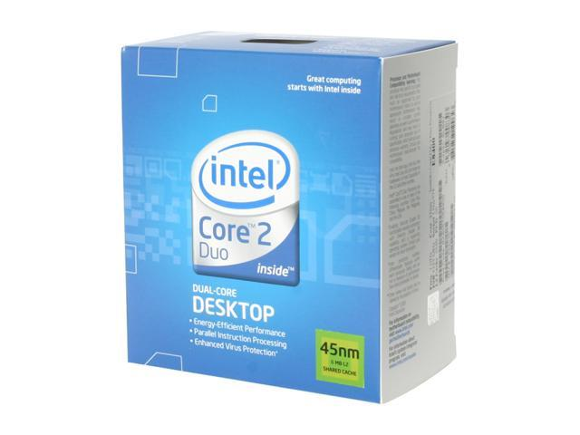 Intel Core 2 Duo E8400 Wolfdale Dual-Core 3.0 GHz LGA 775 65W BX80570E8400 Processor