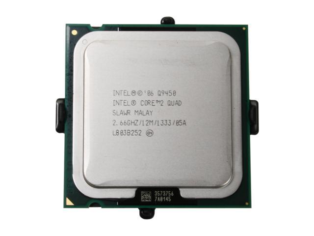 Intel Core 2 Quad Q9450 Yorkfield Quad-Core 2.66 GHz LGA 775 95W EU80569PJ067N Processor