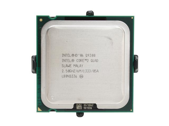 Intel Core 2 Quad Q9300 Yorkfield Quad-Core 2.5 GHz LGA 775 95W EU80580PJ0606M Processor