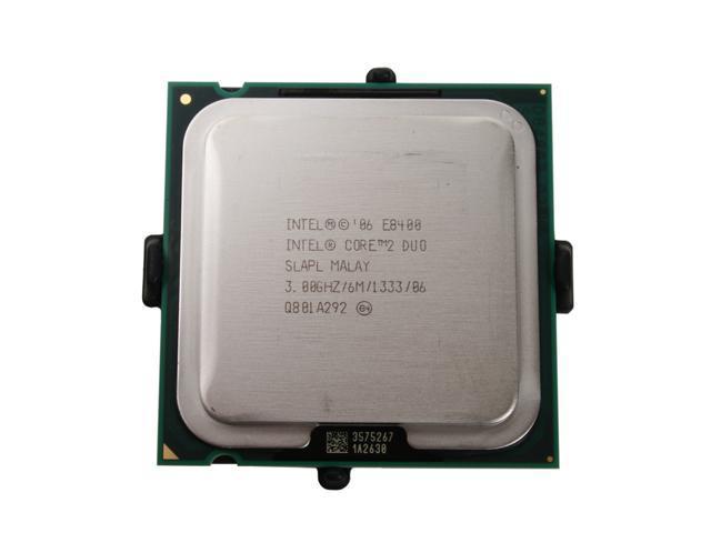 Intel Core 2 Duo E8400 Wolfdale Dual-Core 3.0 GHz LGA 775 65W EU80570PJ0806M Processor - Newegg.com