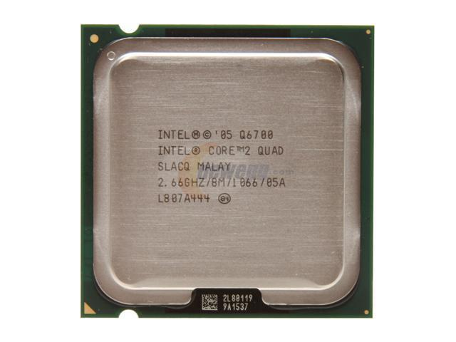 Intel Core 2 Quad Q6700 Kentsfield Quad-Core 2.66 GHz LGA 775 95W HH80562PH0678MK Processor