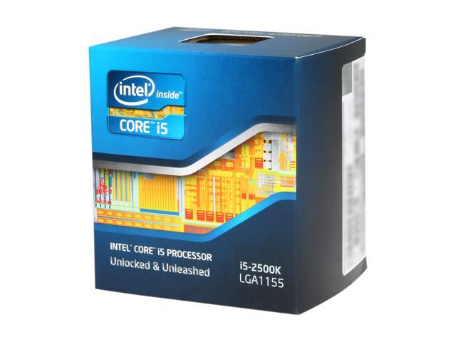 Intel Core i5-2500K Sandy Bridge Quad-Core 3.3GHz (3.7GHz Turbo Boost) LGA 1155 95W BX80623I52500K Desktop Processor Intel HD Graphics 3000